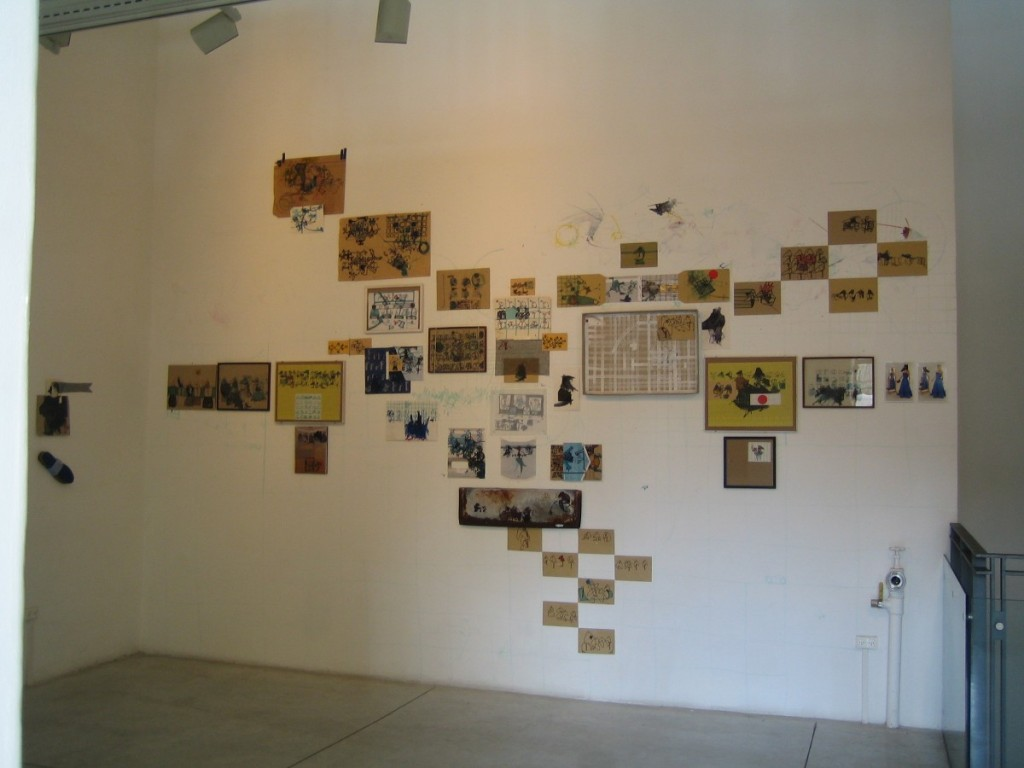 Half Board, Installation View