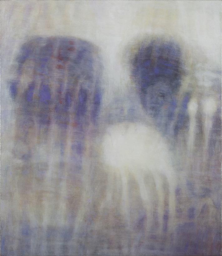 Bracha L. Ettinger, Eurydice The Graces Demeter, 2006-2012, oil on canvas