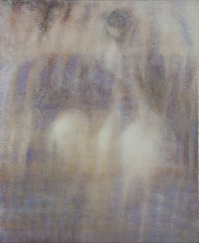 Bracha L. Ettinger, Eurydice The_Graces Medusa, 2006-2012, oil on canvas