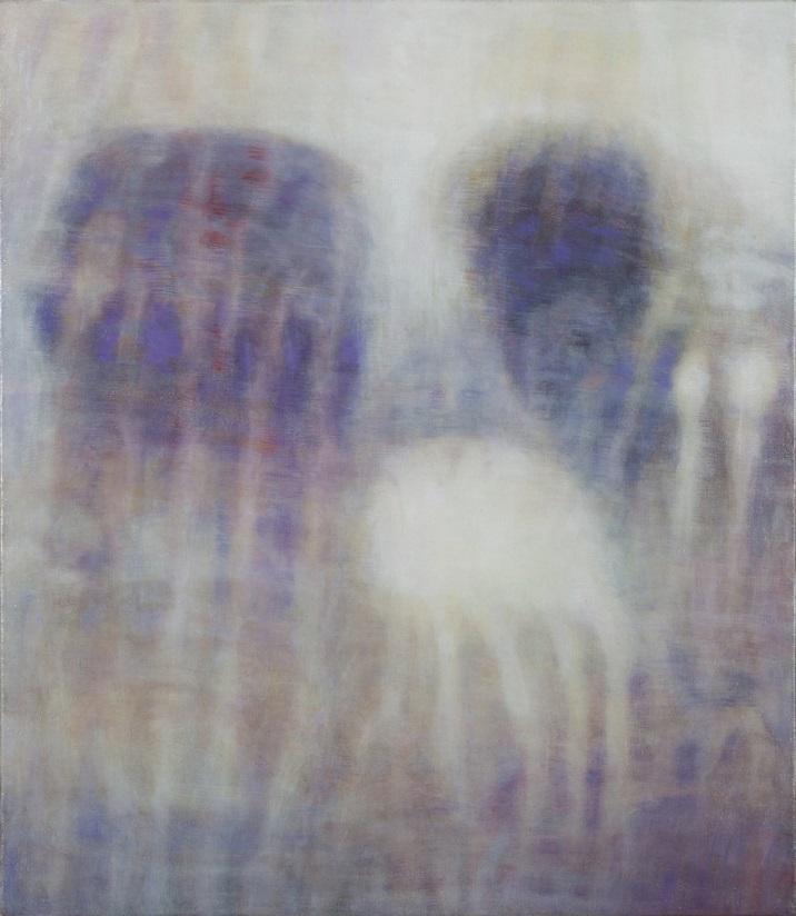 Brach L. Ettinger, Eurydice The Graces Demeter, 2006-2012, oil on canvas, 50 x 43.5 cm