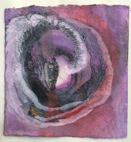 Bracha L. Ettinger, Chrysalis no. 2, 2013, aquarelles, watercolor, India ink and felt-tip pen on paper, 10.5 x 10.5 cm