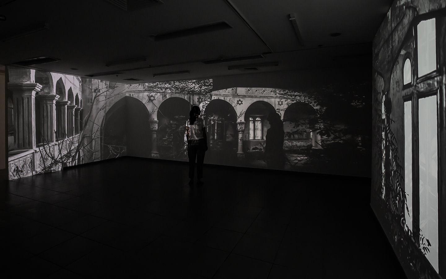 Dor Zlekha Levy, 'Magen', Multichannel projection installation,  2016, dimensions variable