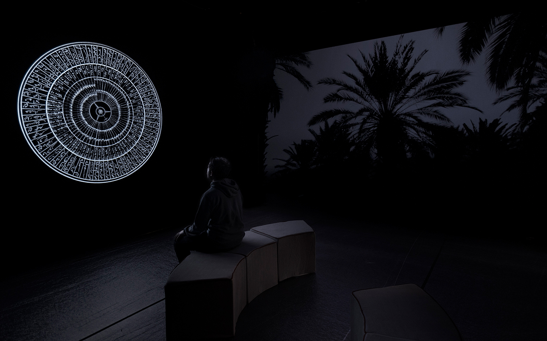 Dor Zlekha Levy, Maqamat, 2017. Installation view, ArtissimaArt Fair 2018
