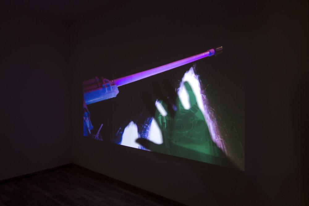 Dor Zlekha Levy, On One Stalk, 2018. Installation view, Idris Tel Aviv