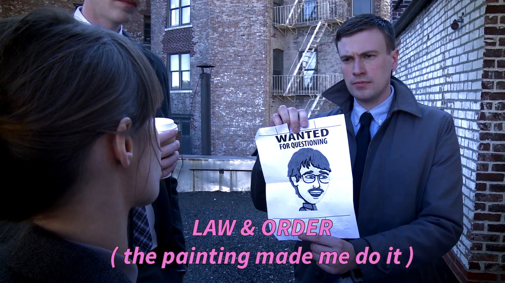 Ruth Patir, Law and Order (The Painting Made me Do It)