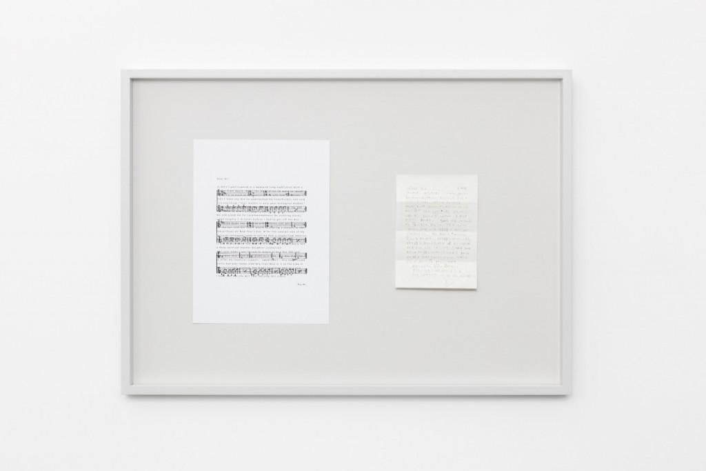 Ari Benjamin Meyers, Solo for Ayumi, Exhibition view, Esther Schipper, 2017