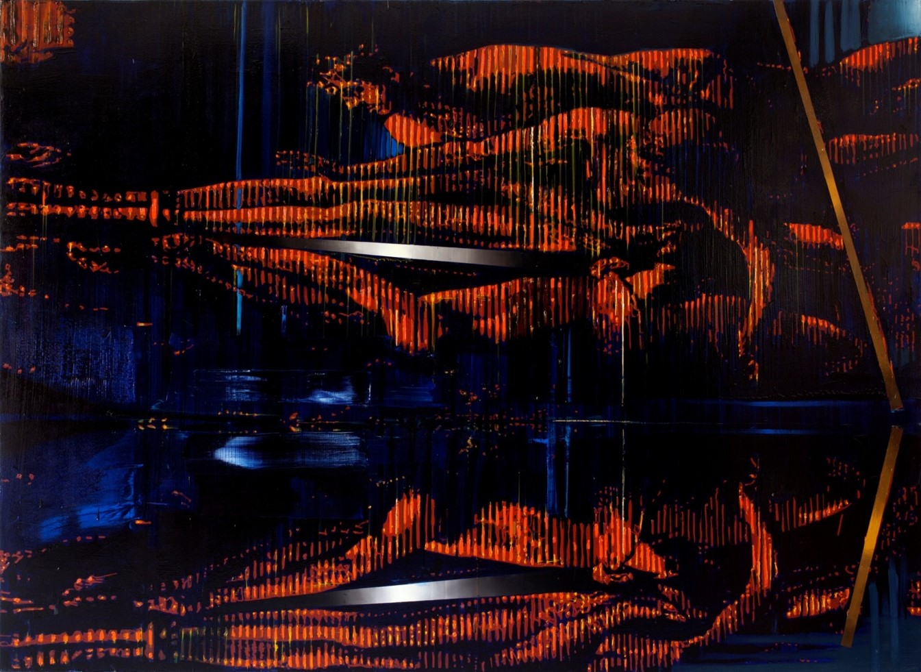 Oren Eliav, Peter, 2012, oil on canvas, 182 x 250 cm