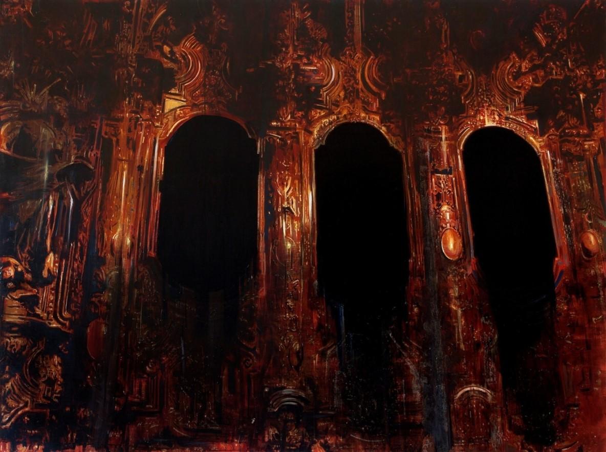 Oren Eliav, Untitled, 2016, oil on canvas, 160x215 cm