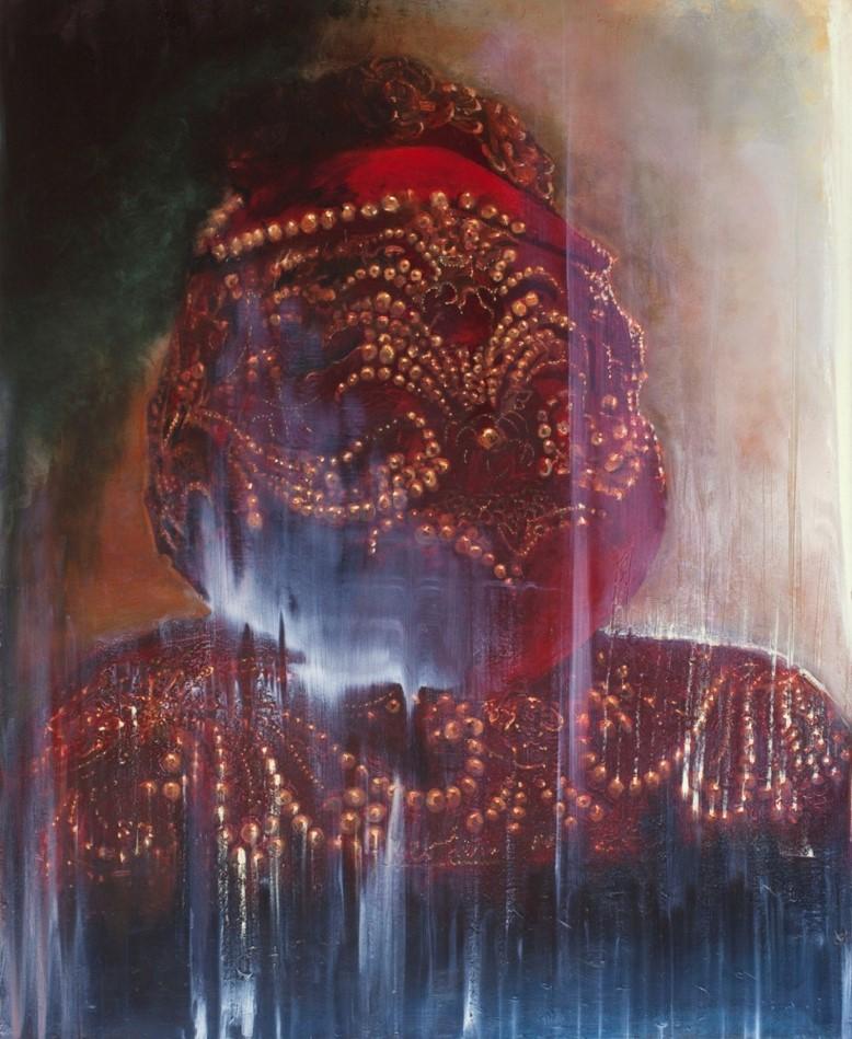 125 Head, 2011, oil on canvas, 113x91 cm