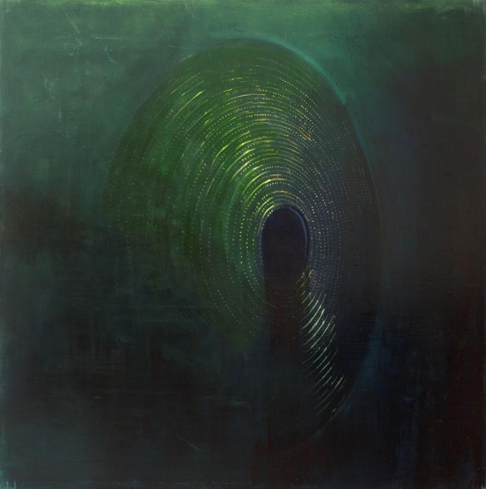 Oren Eliav, Untitled, 2011, oil on canvas, 150x150 cm