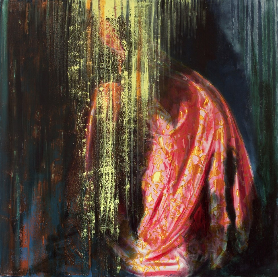 Oren Eliav, Untitled, 2011, Oil on canvas, 150 x 150 cm