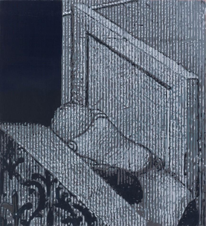 Oren Eliav, Nameless, 2017, oil on canvas , 110 x 100 cm