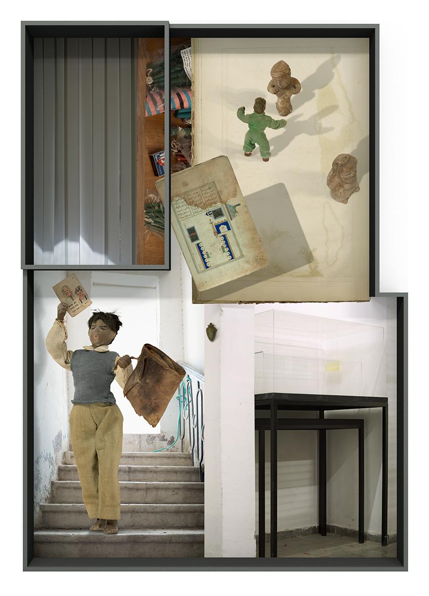 Ilit Azoulay, Vitrine no. 5: Neither dream nor riddle, 2017, inkjet print, 99 x 70 cm