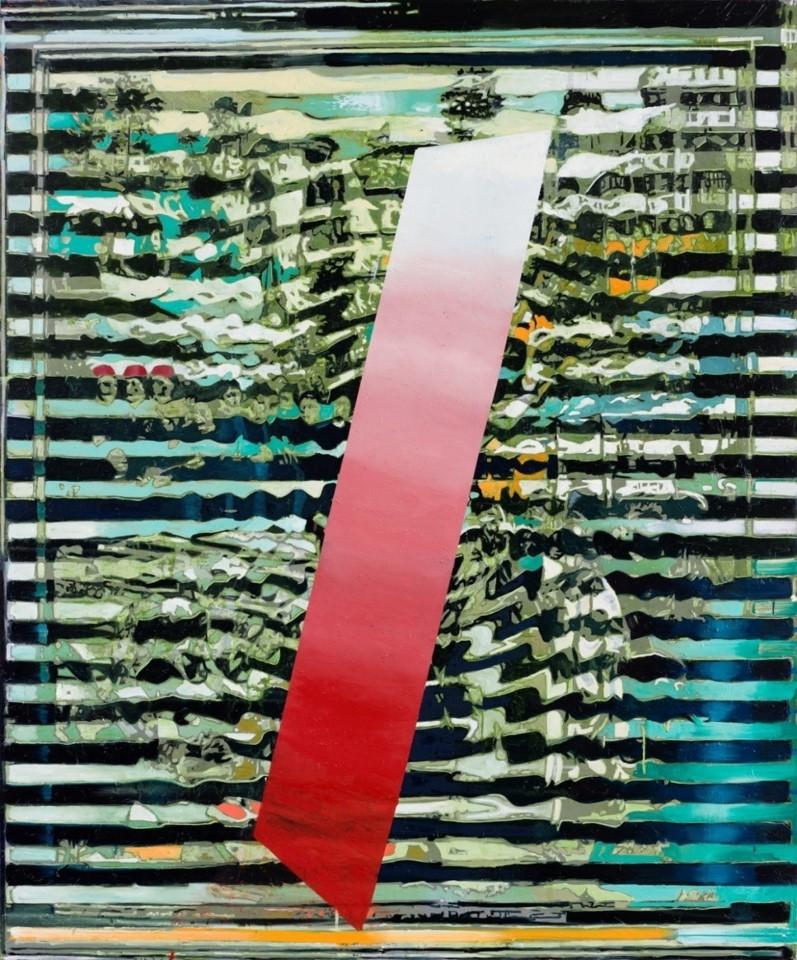 Oren Eliav, Untitled, 2014, oil on canvas, 240 x 200 cm