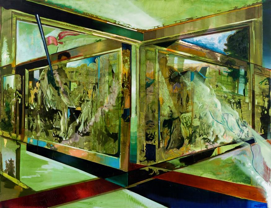 Oren Eliav, Transfiguration, 2014, oil on canvas, 200 x 260 cm