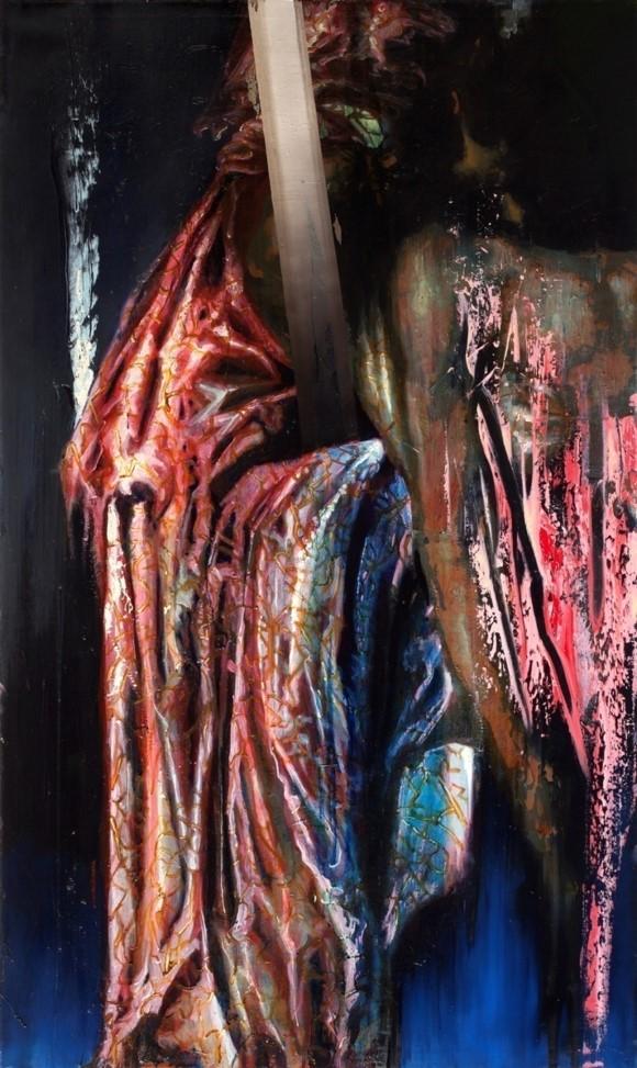 Oren Eliav, Deposition, 2012 Oil on canvas, 150 x 100 cm