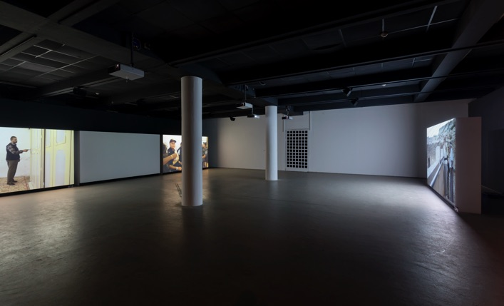 Nira Pereg, Ishmael, installation view, Helena Rubinstein Pavilion for Contemporary Art, Tel Aviv Museum of Art, 2017. Photo by Elad Sarig