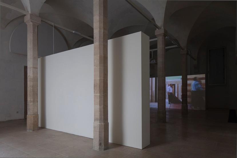 Nira Pereg, Abraham Abraham Sarah Sarah, installation view, Prix Maratier, La Fondation pro mahj le musée d'art et d'histoire du judaïsme ,Paris, France. 2015. Photo by Yael Engelhart