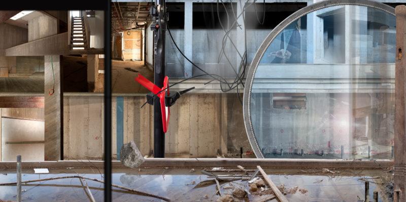 Ilit Azoulay, Mirror Stage, 2012, inkjet print, 144 x 288 cm