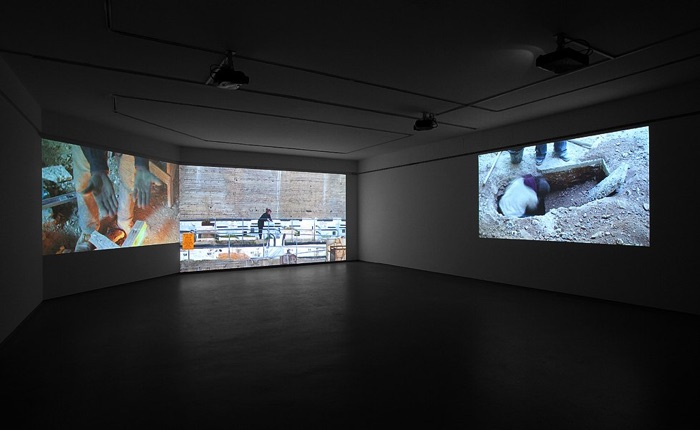 Nira Pereg, Kept Alive, installation view in 'Mountain', Tel Aviv Museum of Art, 2010. Photo by Elad Sarig