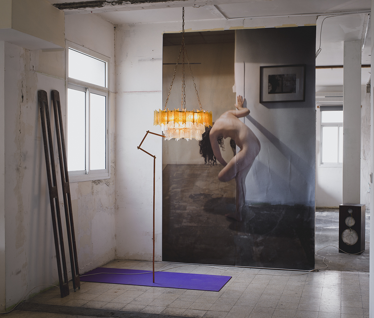 Mark Yashaev, Self Shadow, 2016, inkjet print, 150 x 180 cm
