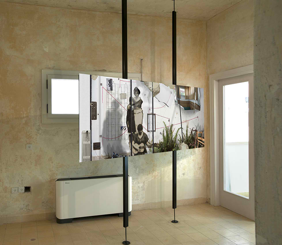 Transferumbau, installation view, White City Center, Tel-Aviv, Israel, 2019