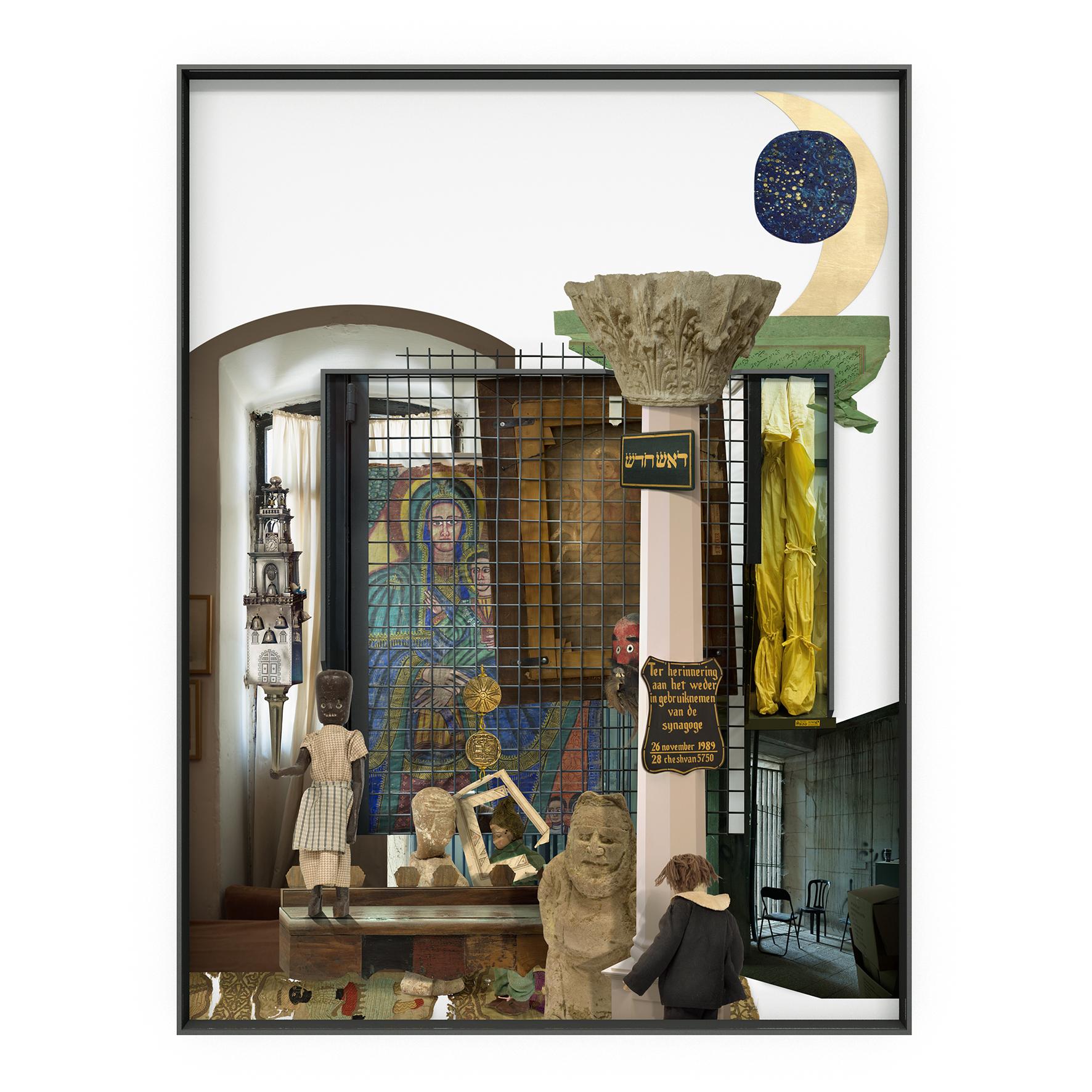 Ilit Azoulay, New Head, 2017, inkjet print, 161 x 122 cm
