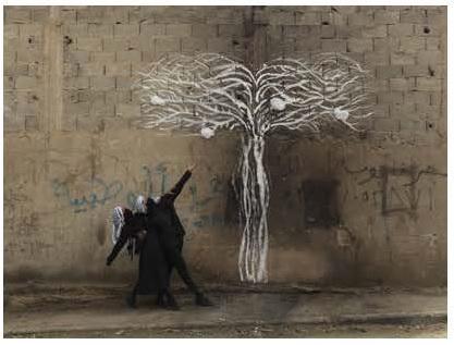 Robin Rhode, Tree of Life , detail (part 1)