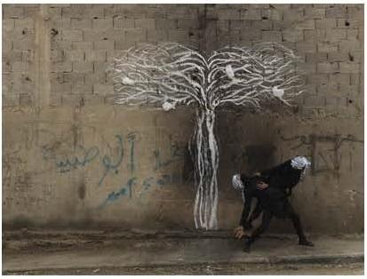 Robin Rhode, Tree of Life, detail (part 2)