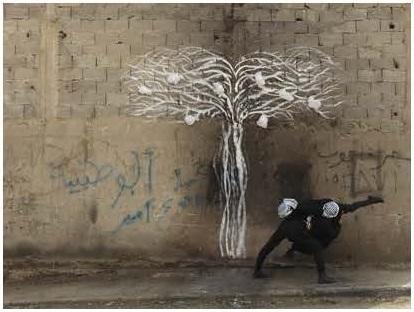 Robin Rhode, Tree of Life, detail (part 4)