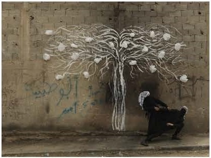 Robin Rhode, Tree of Life, detail (part 8)