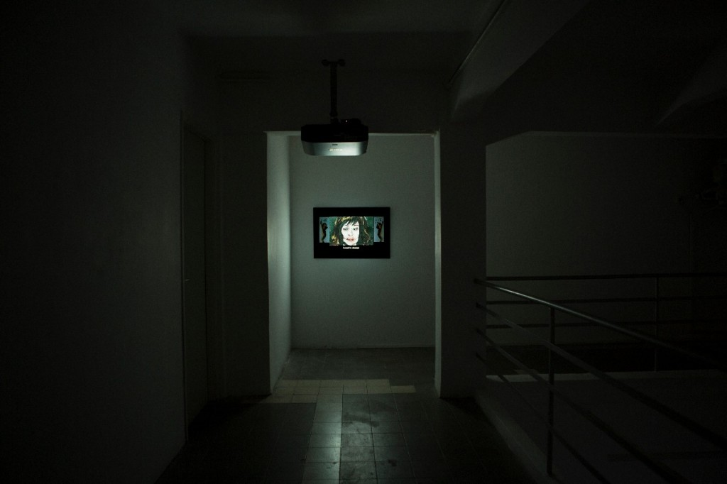 lights out D.N.A. Removal, Installation view, Braverman gallery
