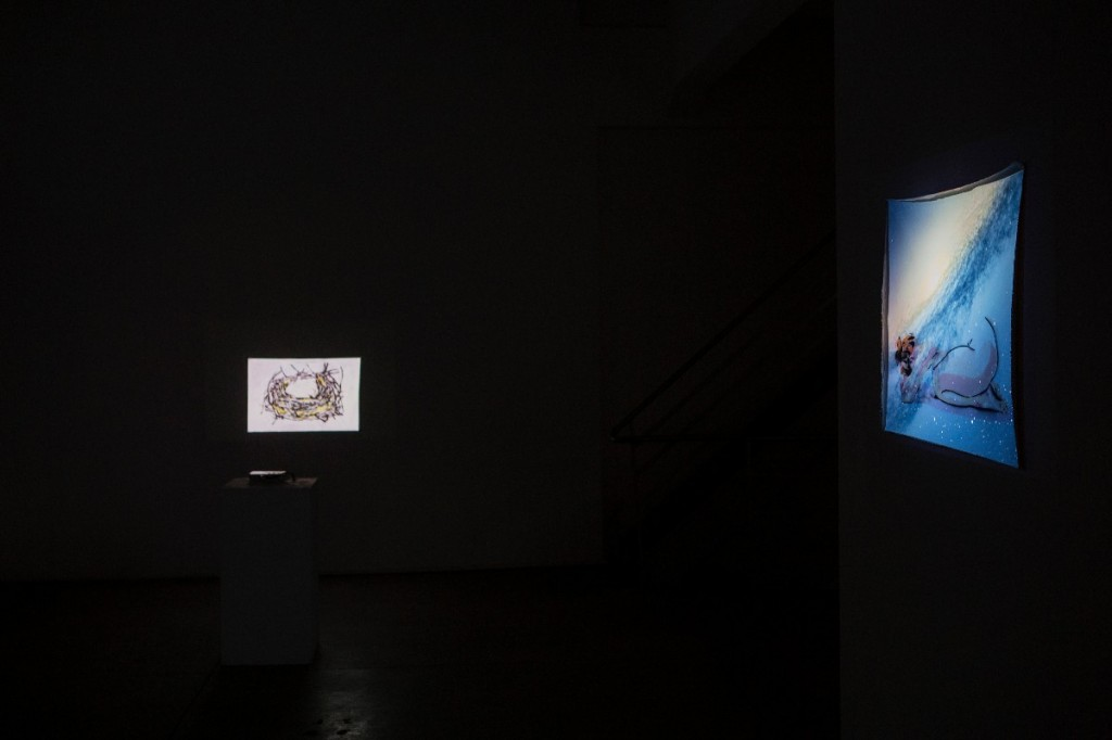 Lights Out, Installation view