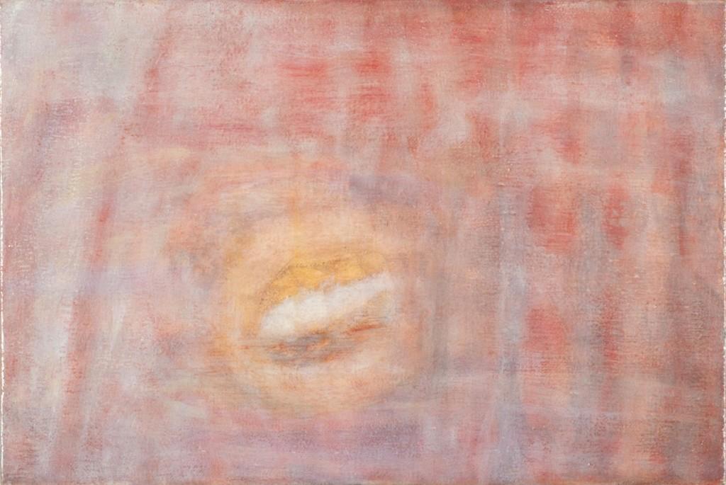 Bracha L. Ettinger, Medusa, 2012, oil on canvas, 20 x 25 cm