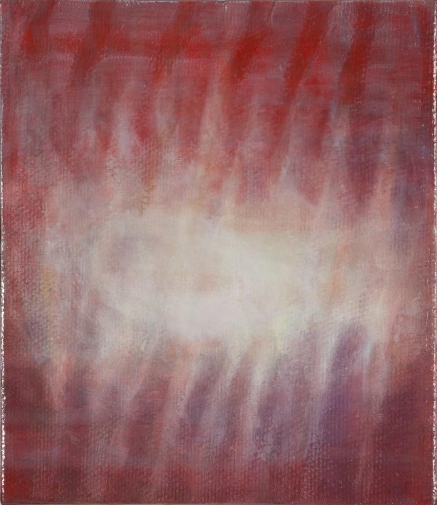 Bracha L. Ettinger, Ophelia, Medusa, no.1, 2006-2013, oil paper mounted on canvas, 24.5 x 28 cm