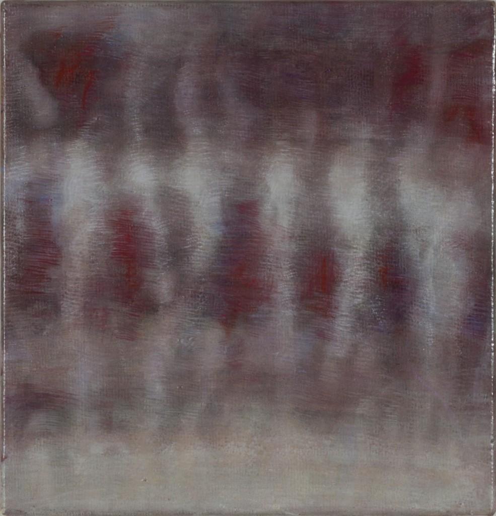 Bracha L. Ettinger, Eurydice nu descendrait, no.1, 2006-2012, oil on paper mounted on canvas, 23.5 x 23.5 cm