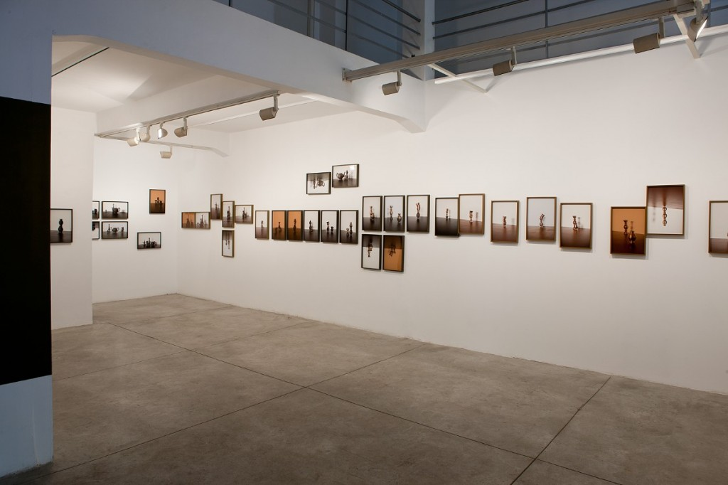'As in Water Face Reflects Face', Installation view, Braverman Gallery, 2013