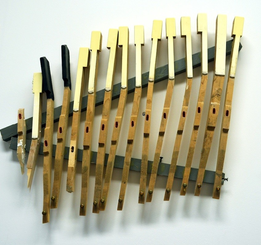 Musical Instruments, 2014, Mixed media