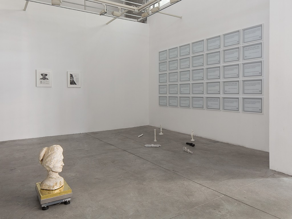 The Vision of Division, Installation view