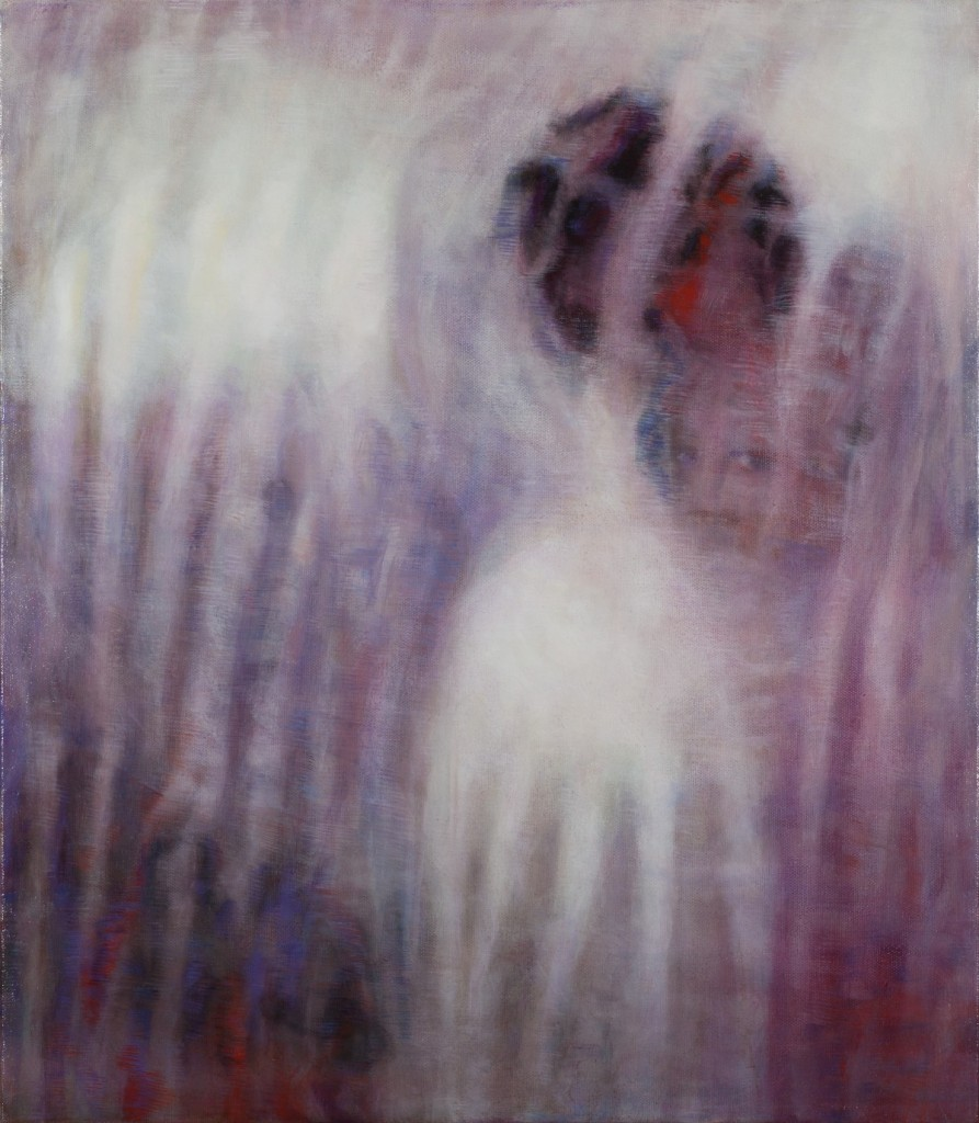 Bracha L. Ettinger, Eurydice, The Graces, Persephone, 2006-2012, oil on canvas, 50 x 43.5 cm