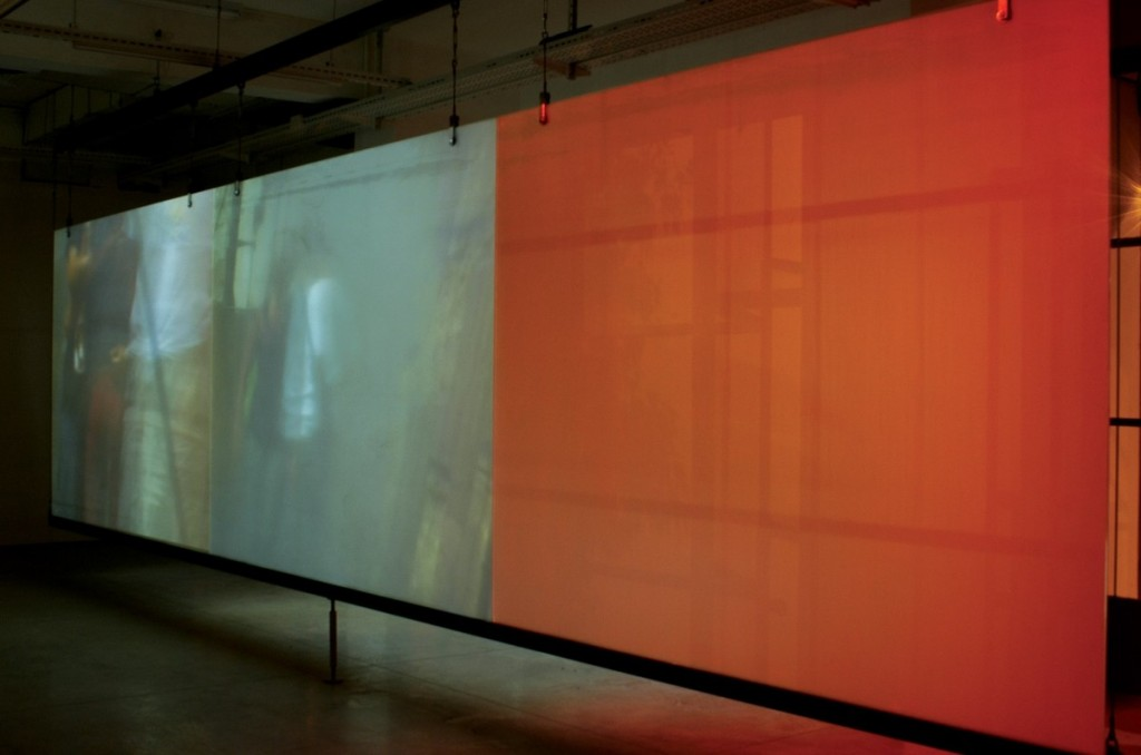 Canicule, Installation view