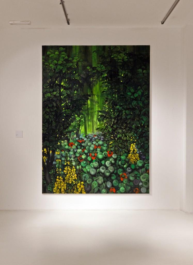 Dark Is The Forest, Installation view, MOCA. Belgrade