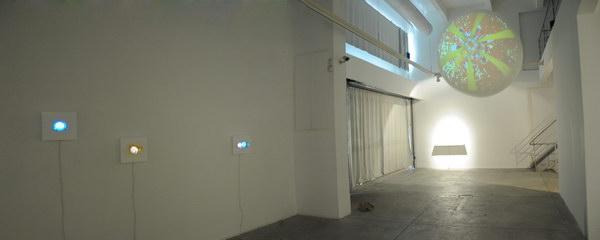 Green Installation view