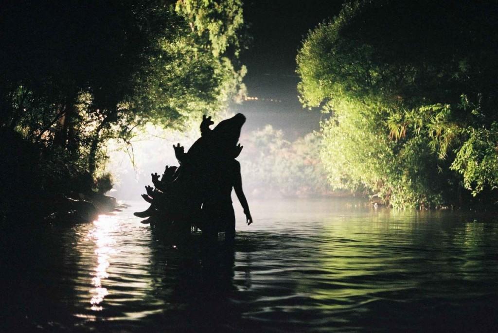Gilad Ratman, Alligatoriver, 2006, DV single channel video, 20:00 min