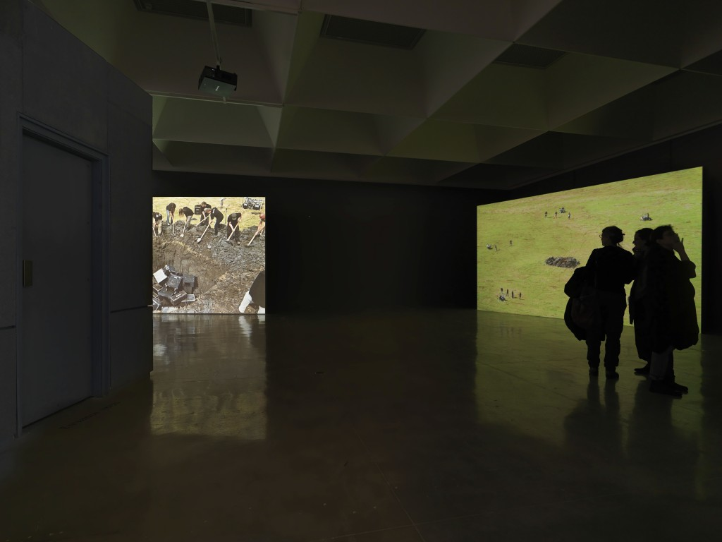 Gilad Ratman, Five Bands from Romania, 2011-2015, Installation view, Israel Museum Jerusalem