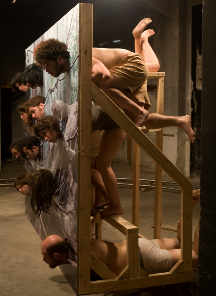 Gilad Ratman, The Multipillory, 2010, single channel video, endless loop