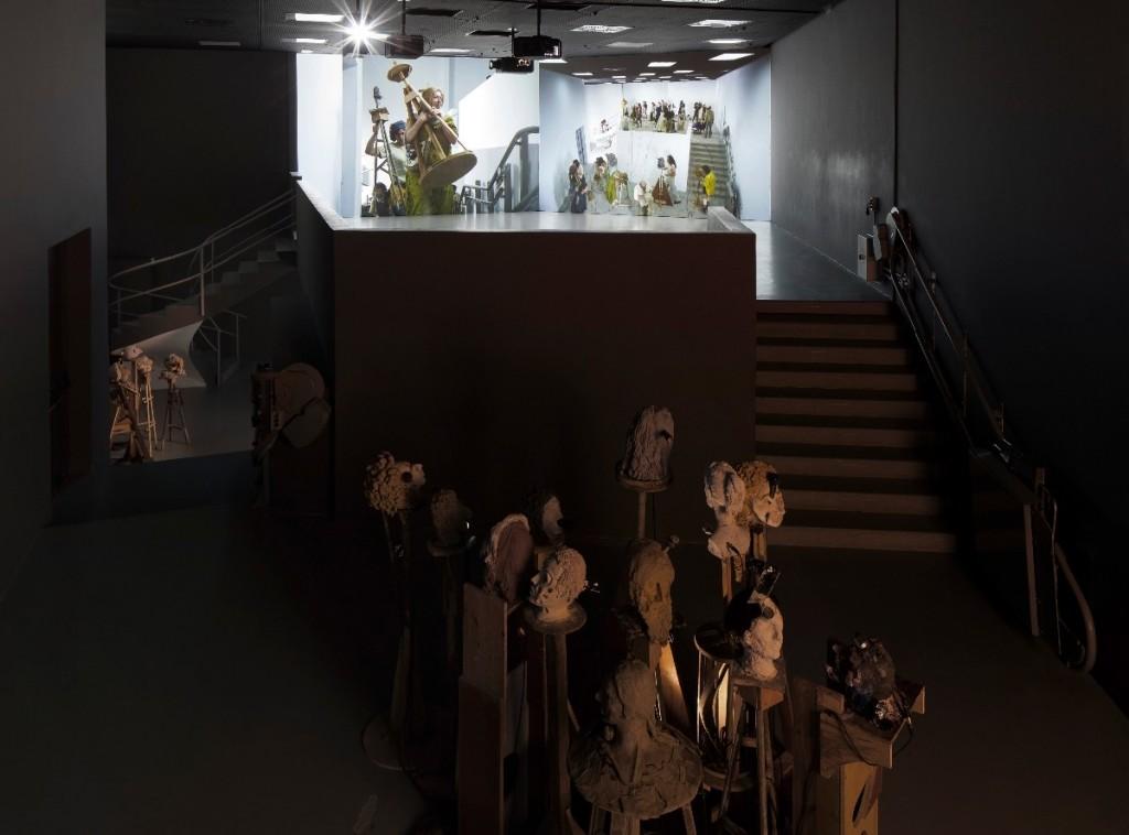 Gilad Ratman, The Workshop, Installation view, The 55th Venice Art Biennale – Israeli Pavilion, 2013