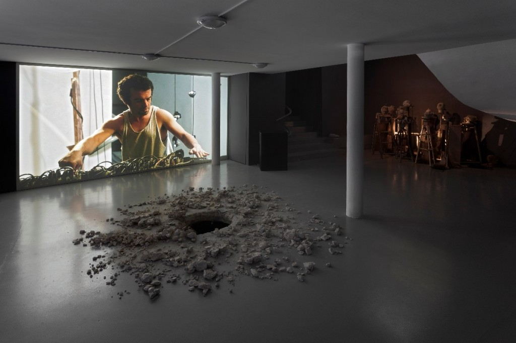 Gilad Ratman, The Workshop, Installation view, MACBA, Buenos Aires, Argentina, 2014