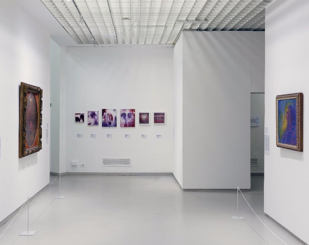 Bracha L. Ettinger, Installation view, Colori, GAM Torino, 2017