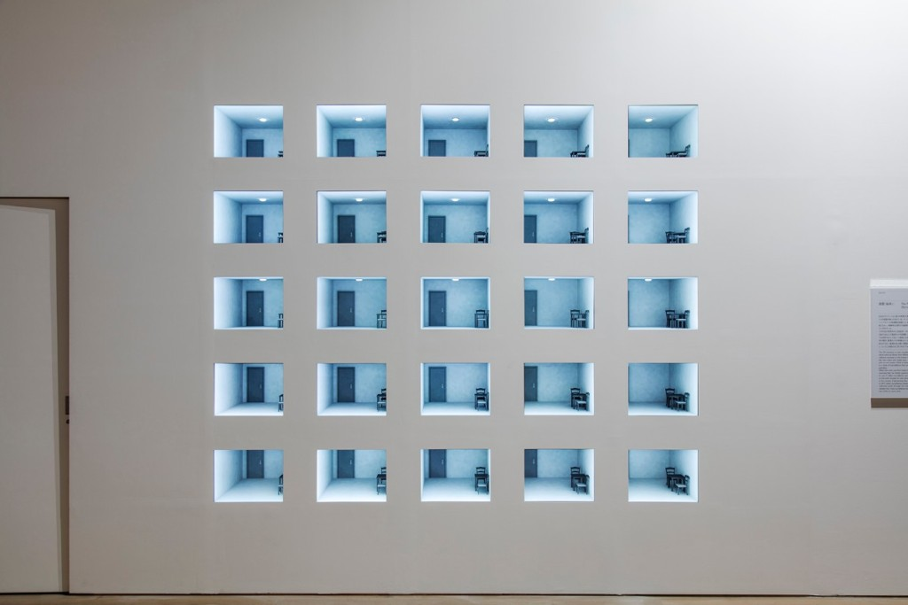 Leandro Erlich, The Room (Surveillance I), 2006, Installation view, Mori Art Museum, Tokyo, Japan, 2017